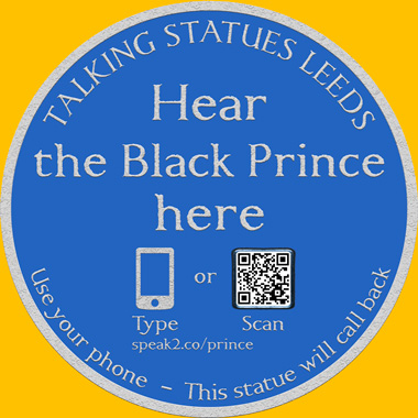 Talking Statues Plaque
